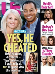 US Magazine - Tiger Woods cover