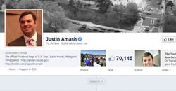 Amash Facebook tells all, almost 1